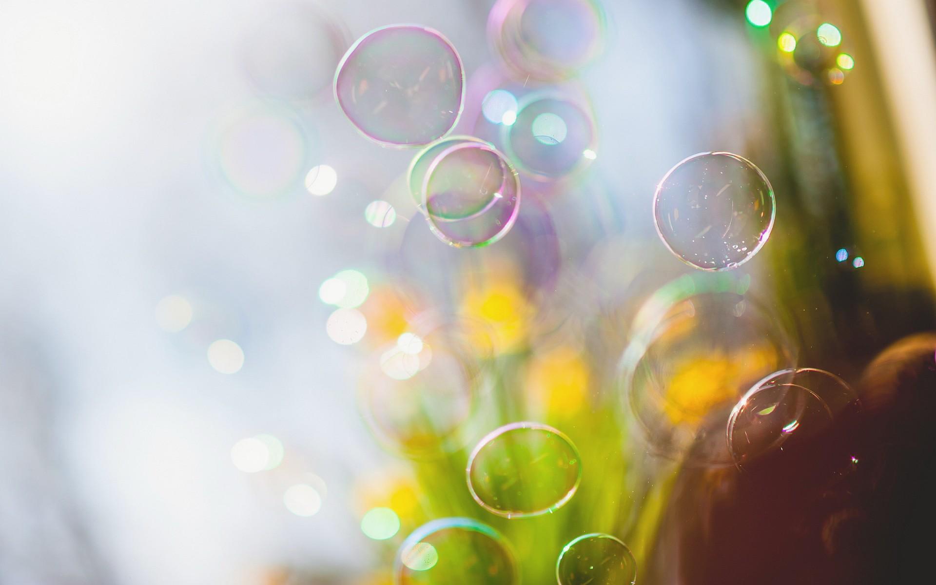 пузыри фон макро  № 3275989  скачать