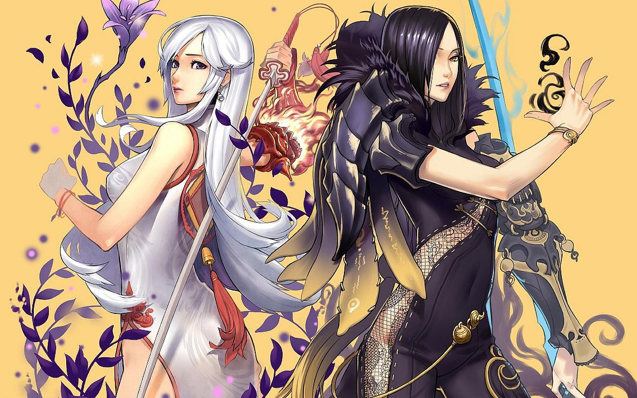 Blade and Soul at 320 x 480 iPhone size wallpapers HD quality