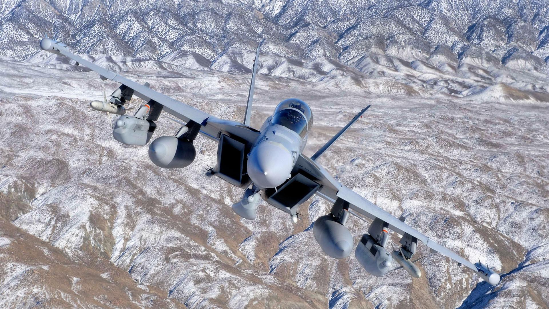 Boeing EA-18G Growler wallpapers HD quality