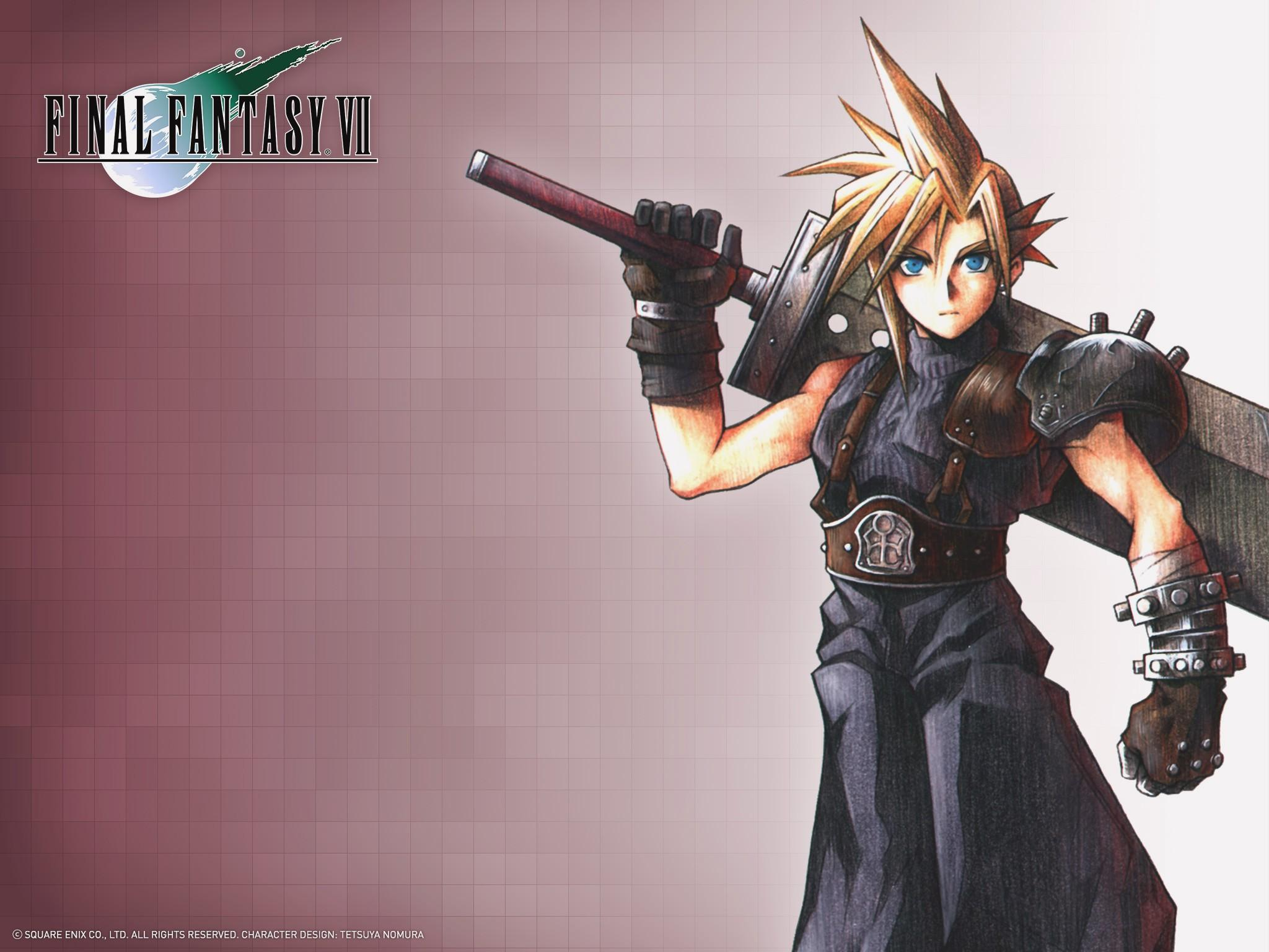Final Fantasy VII at 2048 x 2048 iPad size wallpapers HD quality