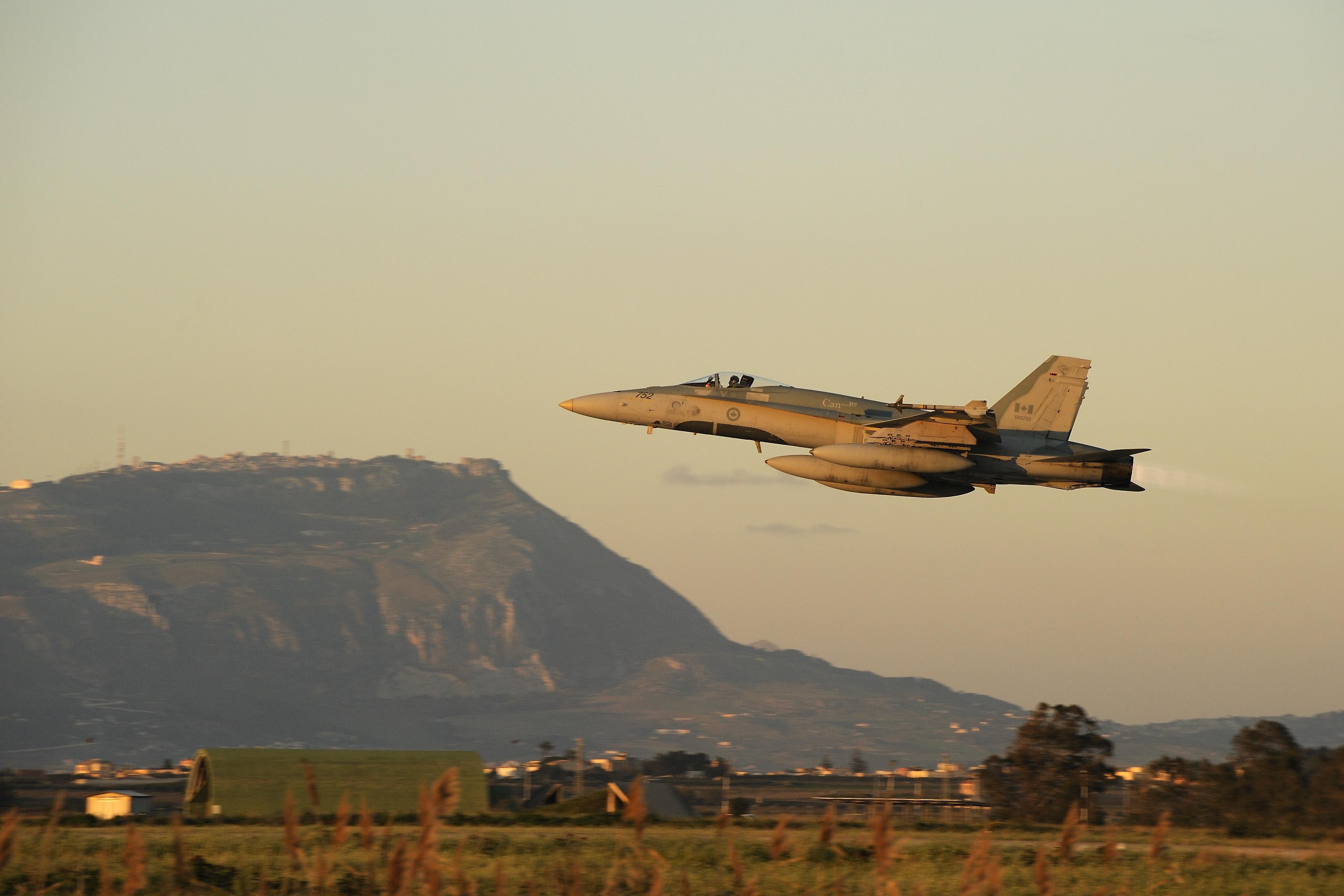 McDonnell Douglas CF-18 Hornet wallpapers HD quality