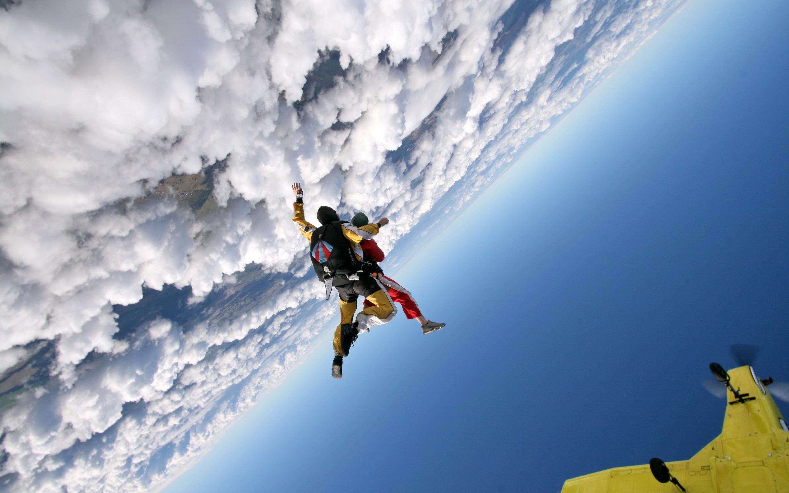 Parachuting wallpapers HD quality