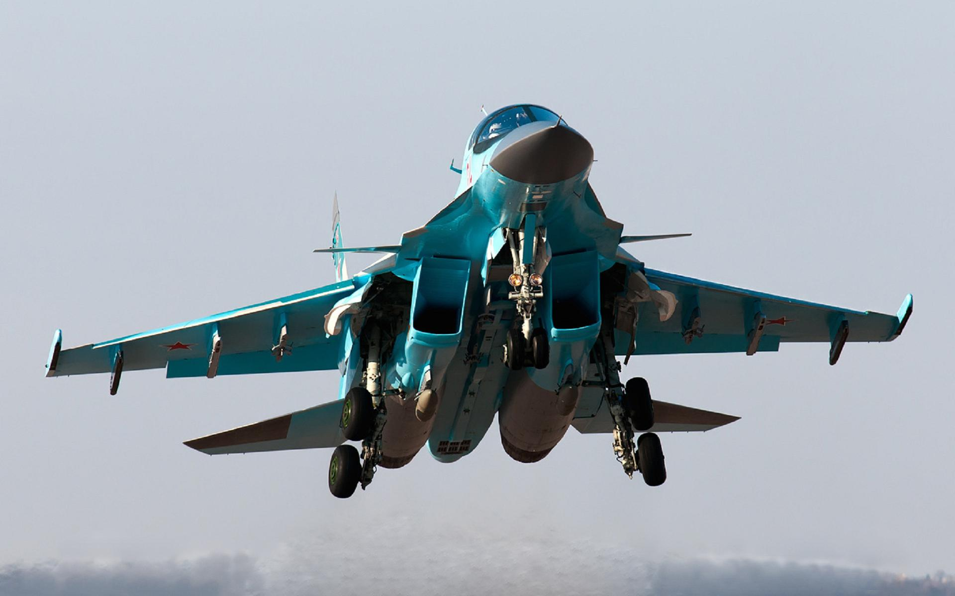 Sukhoi Su-34 wallpapers HD quality