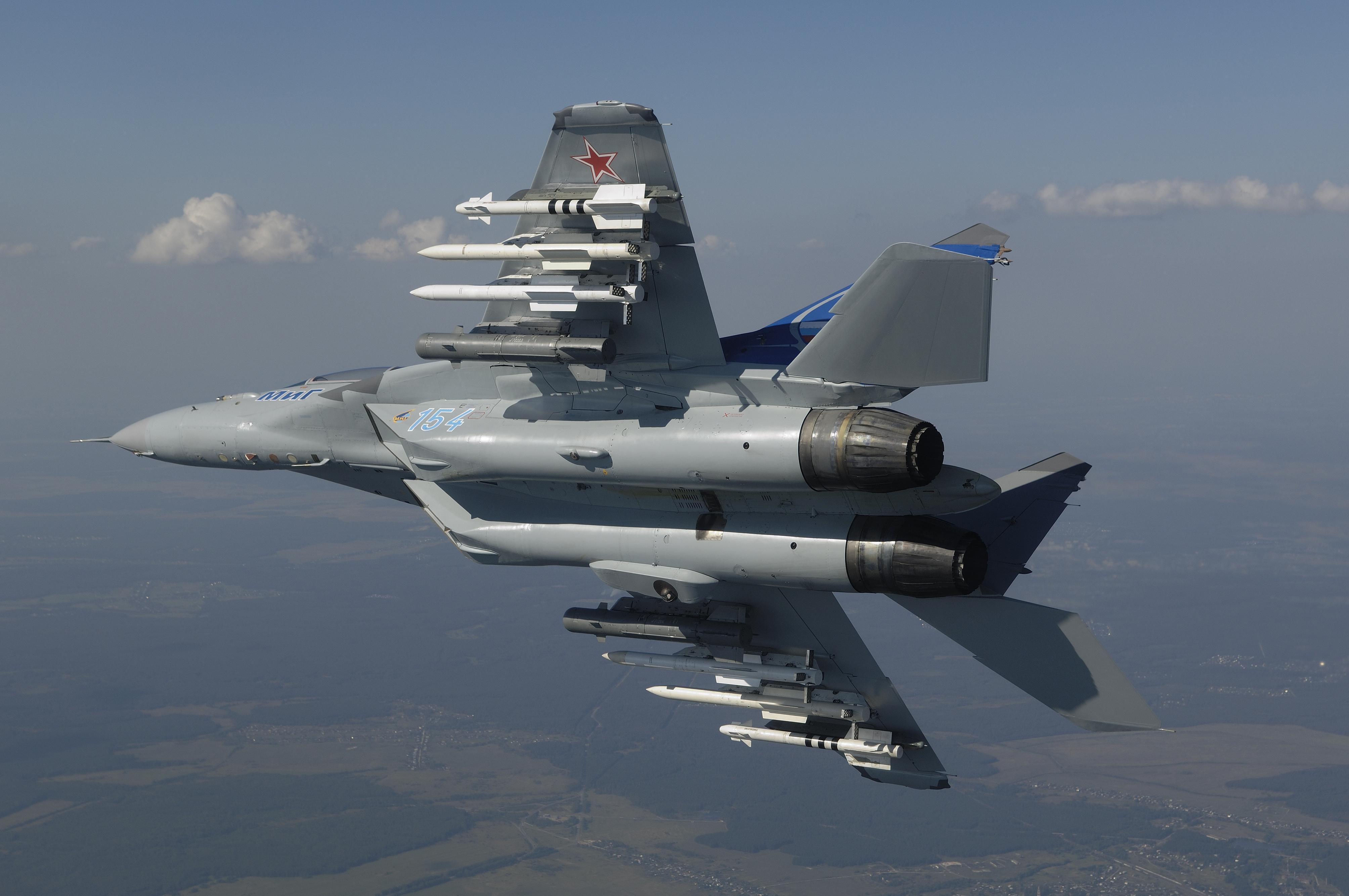самолет ВВС РФ МиГ-35 Микоян  № 3741445 без смс