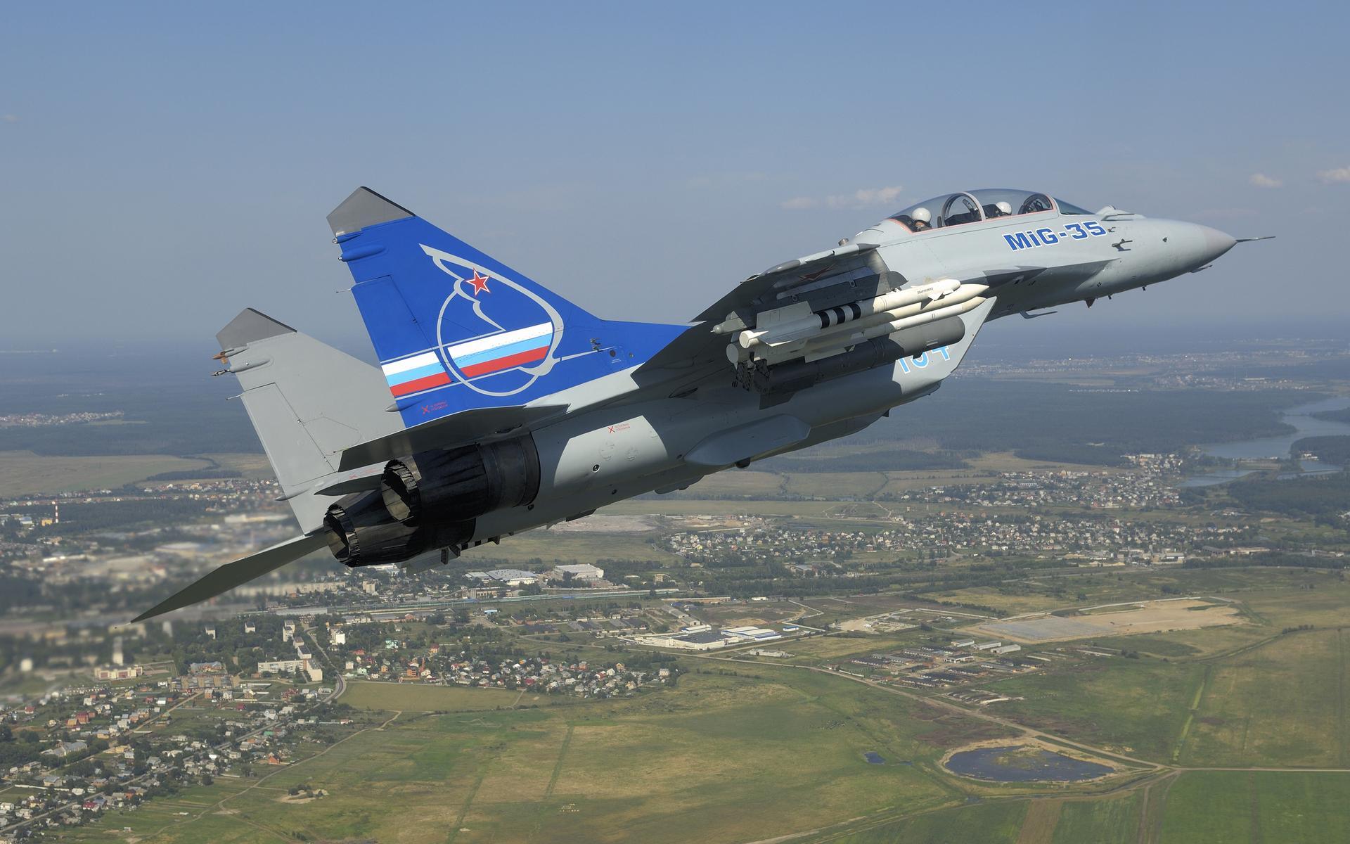Mig 35 Hd Wallpaper: Mikoyan MiG-35 Wallpaper HD Download