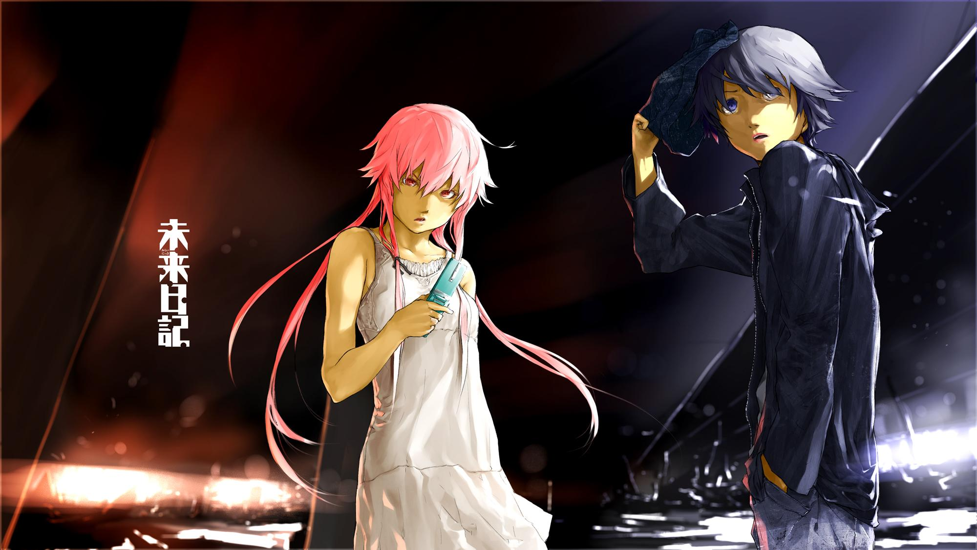 Gasai Yuno Yukiteru Amano Mirai Nikki Wallpapers Hd: Mirai Nikki Wallpaper HD Download