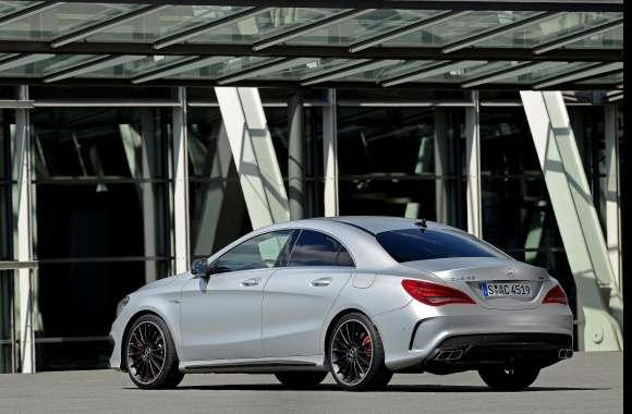Mercedes Benz Cla 45 Amg wallpapers hd quality