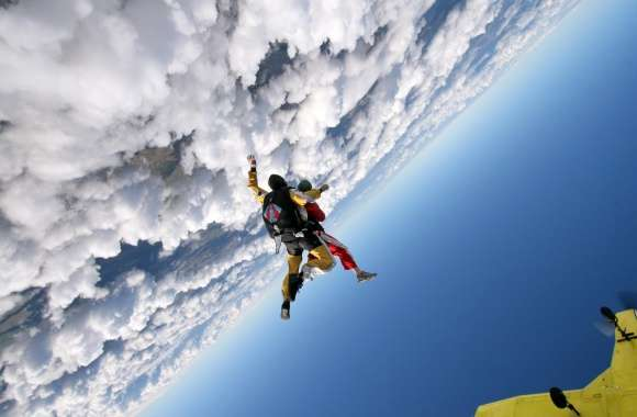 Parachuting wallpapers hd quality
