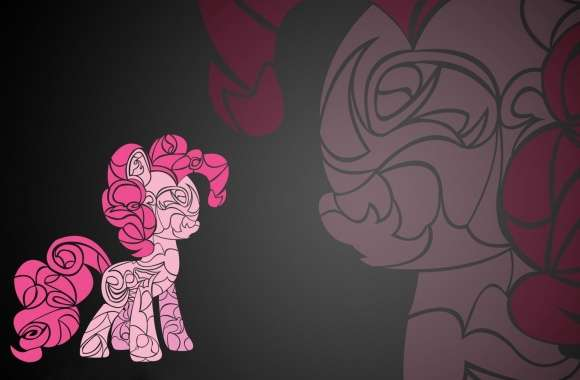 Pinkie Pie art - My Little Pony