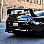 Toyota Supra widescreen