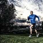 Running background