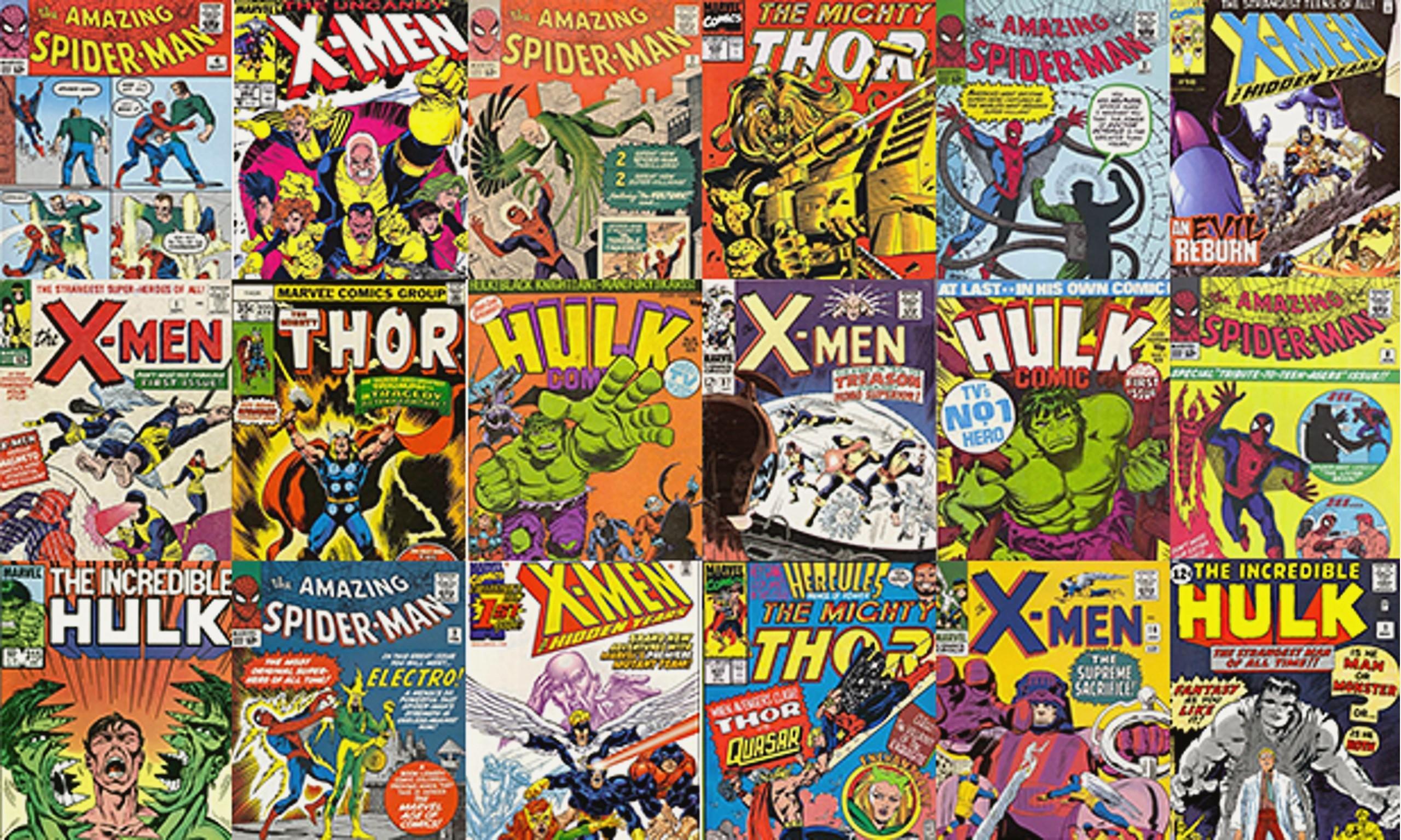 Marvel Comics Wallpaper HD Download
