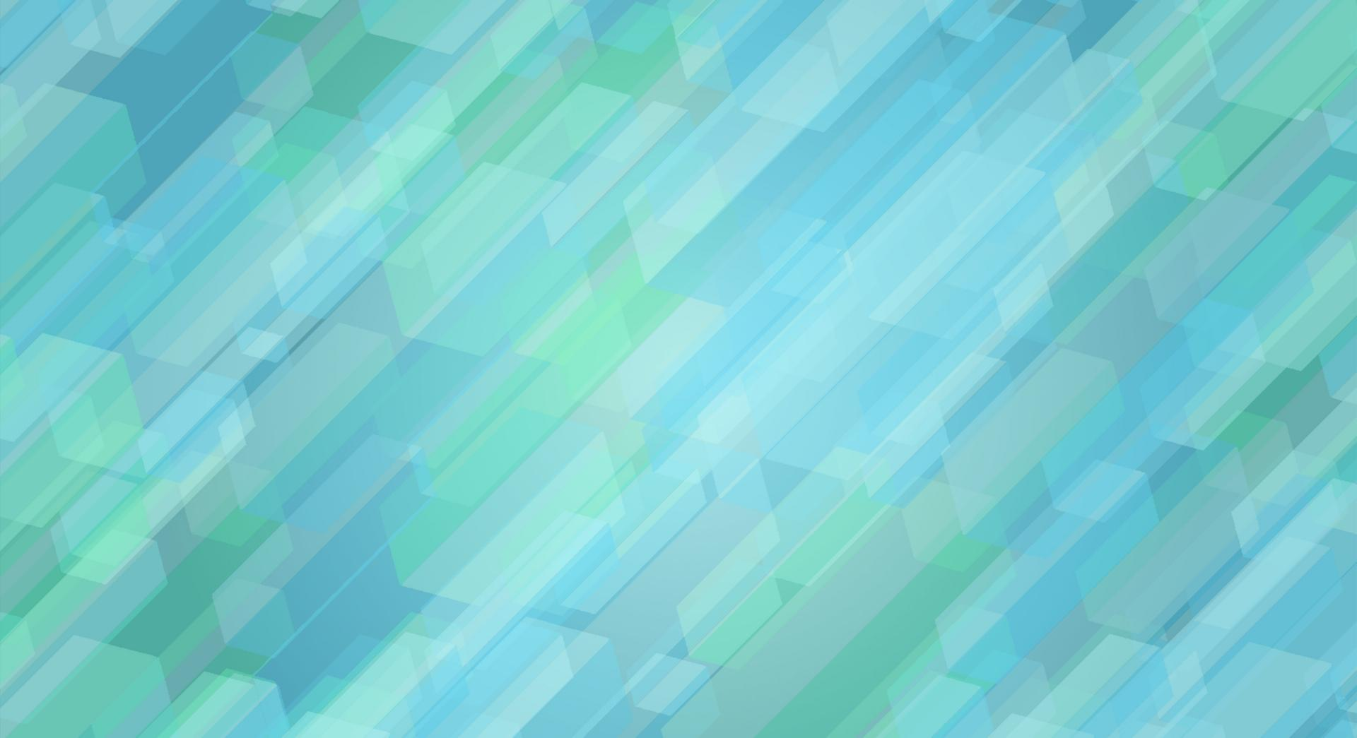 Blue and green geometrical shapes wallpapers HD quality