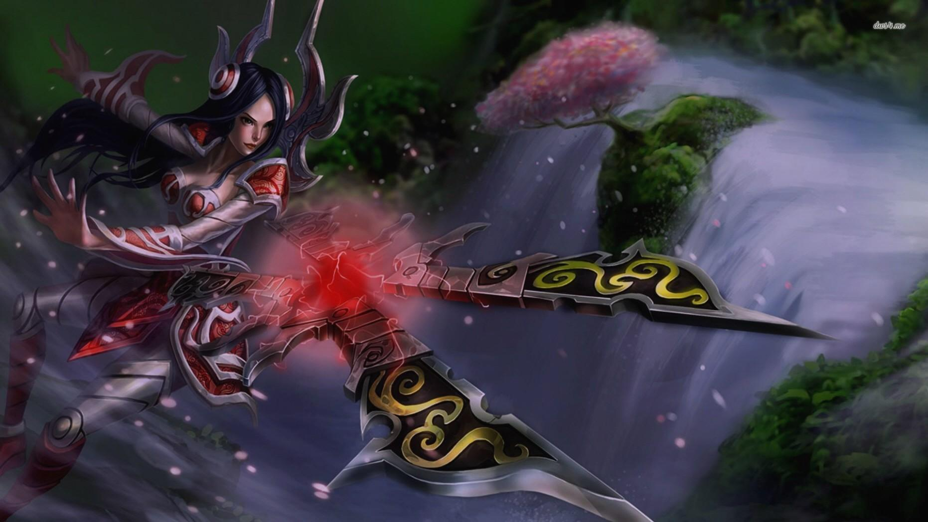 League Of Legends Irelia wallpapers HD quality