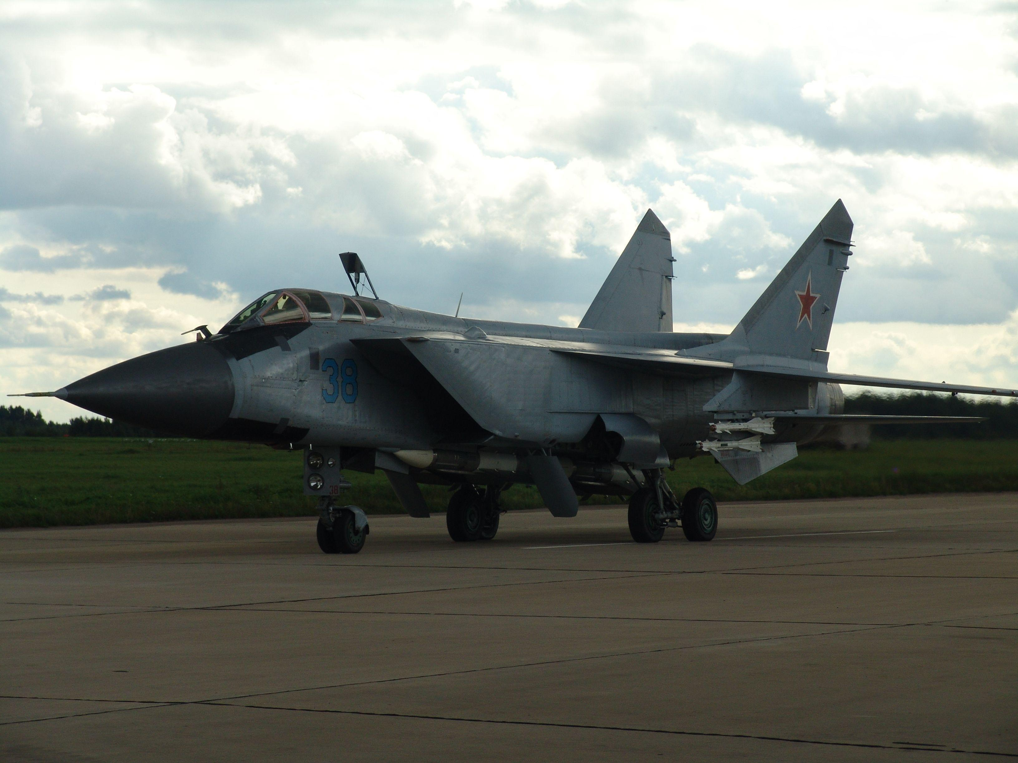 Mikoyan MiG-31 wallpapers HD quality