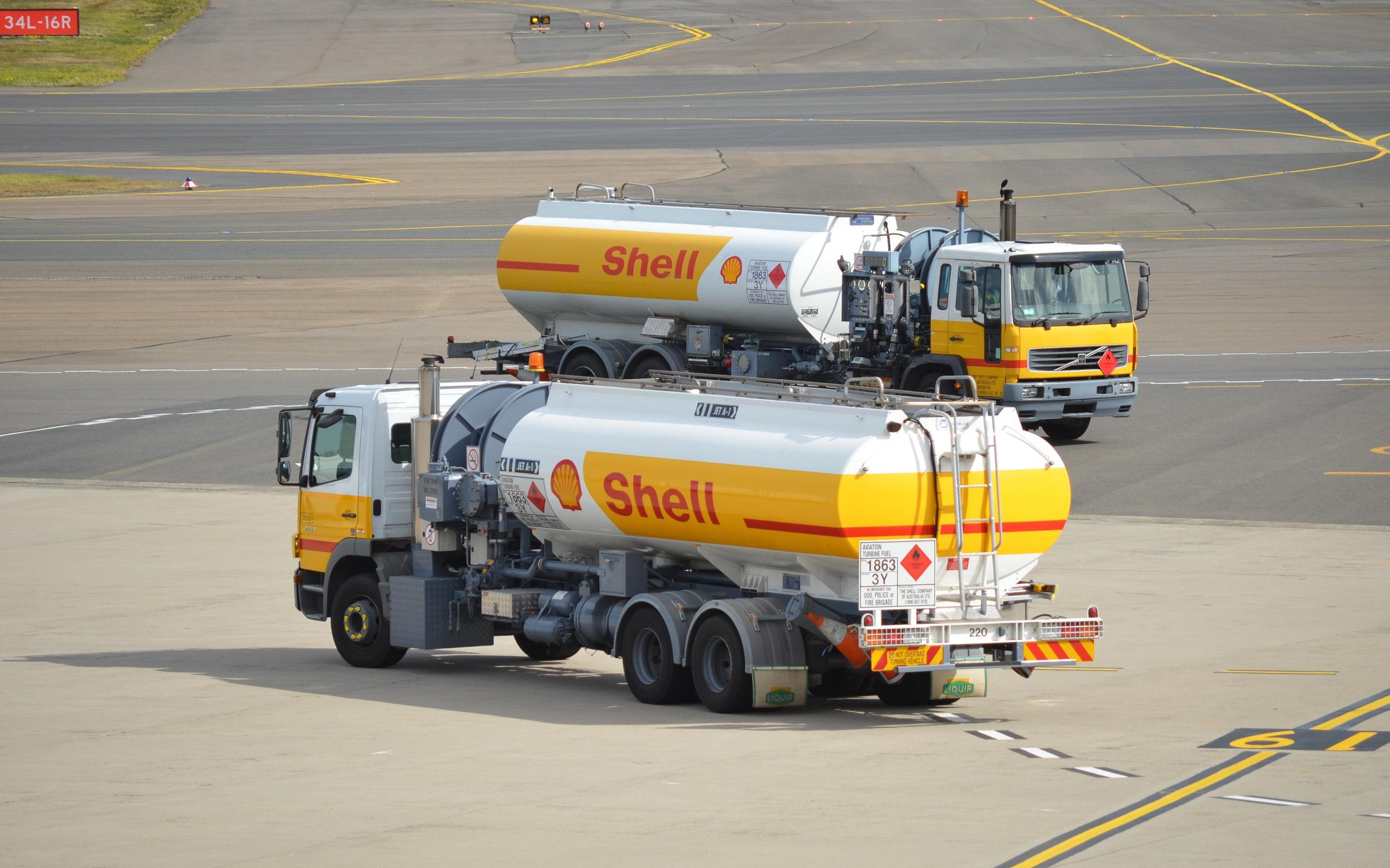 Shell Vip Jet Tanker wallpapers HD quality