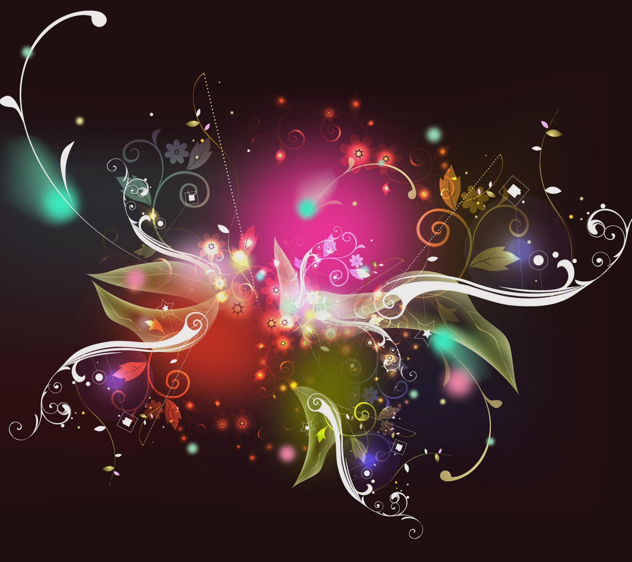Abstract Flower Wallpaper HD Download