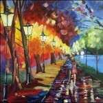 Impressionism background