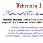 National Freedom Day free