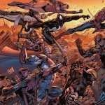 Marvel Comics background
