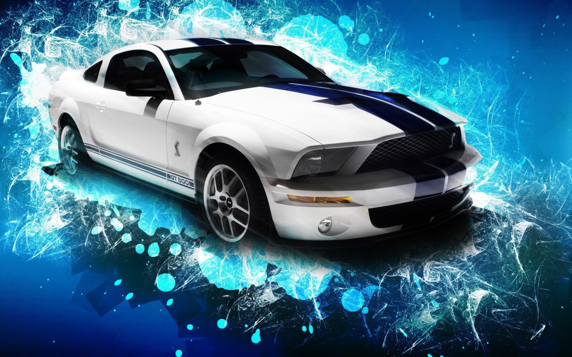 Ford mustang gt500 widescreen