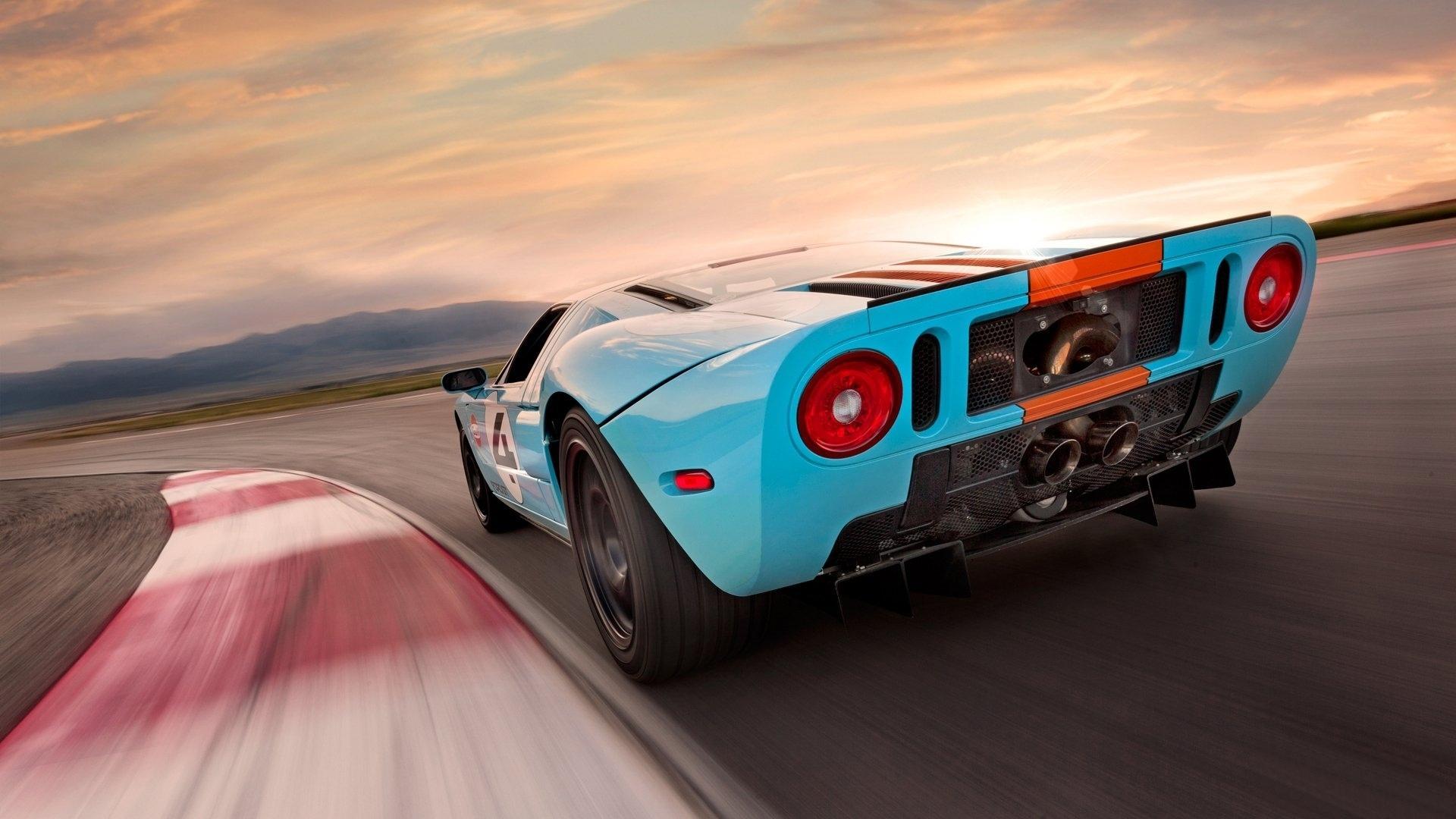 Ford GT дорога гонки бесплатно