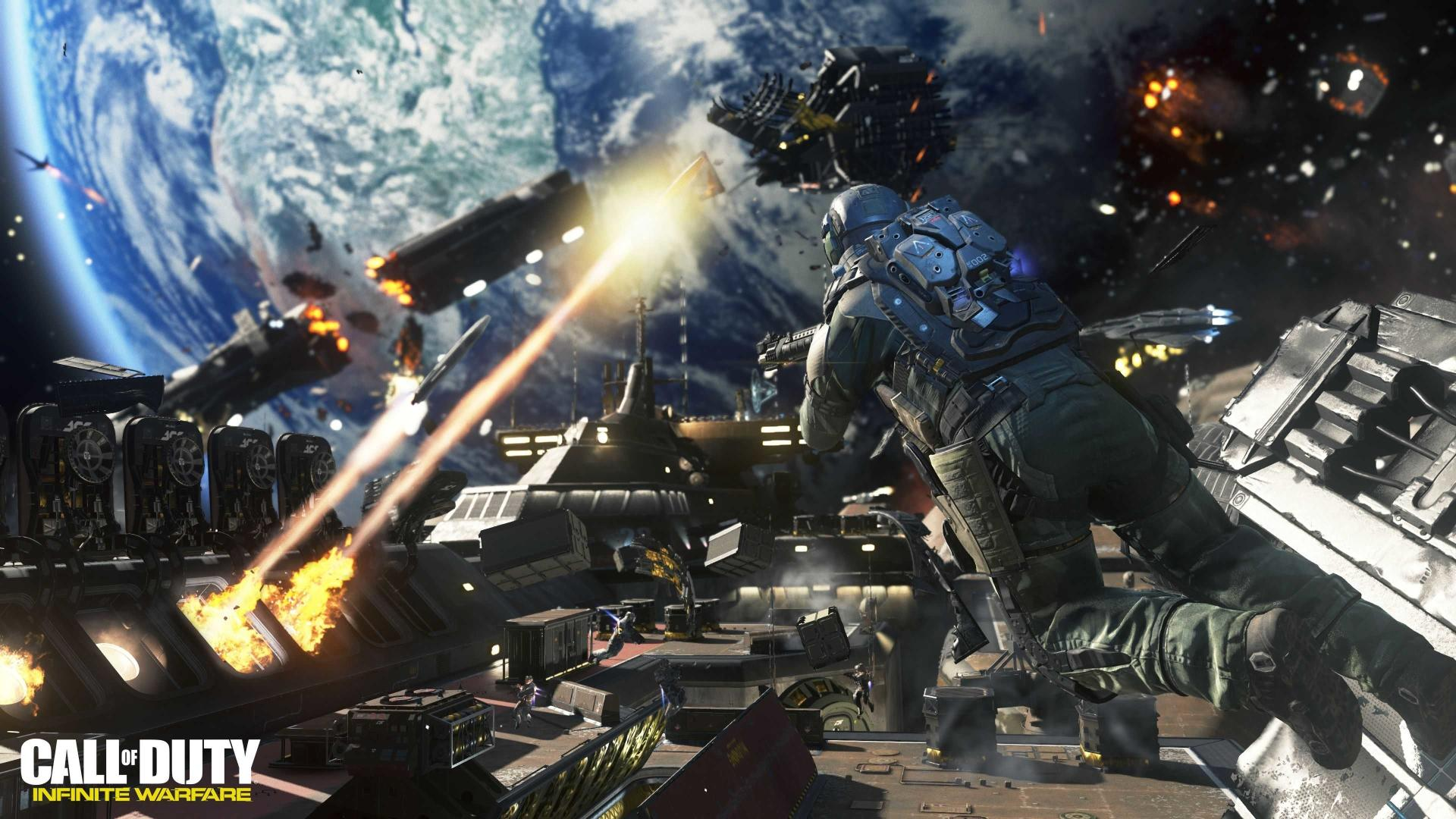 Cod Infinite Warfare Wallpaper: Call Of Duty Infinite Warfare Wallpaper HD Download