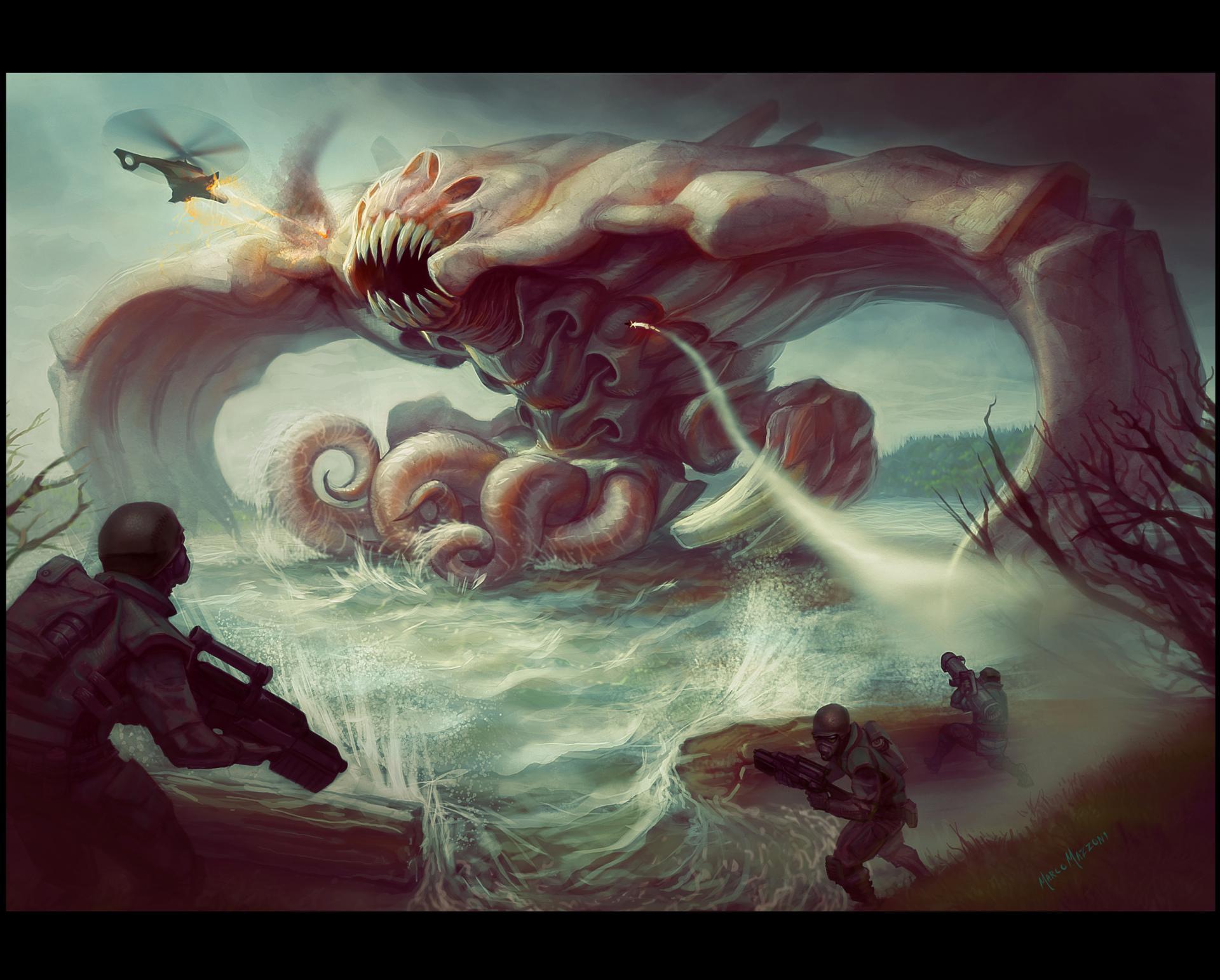 Kraken Wallpaper for Android APK