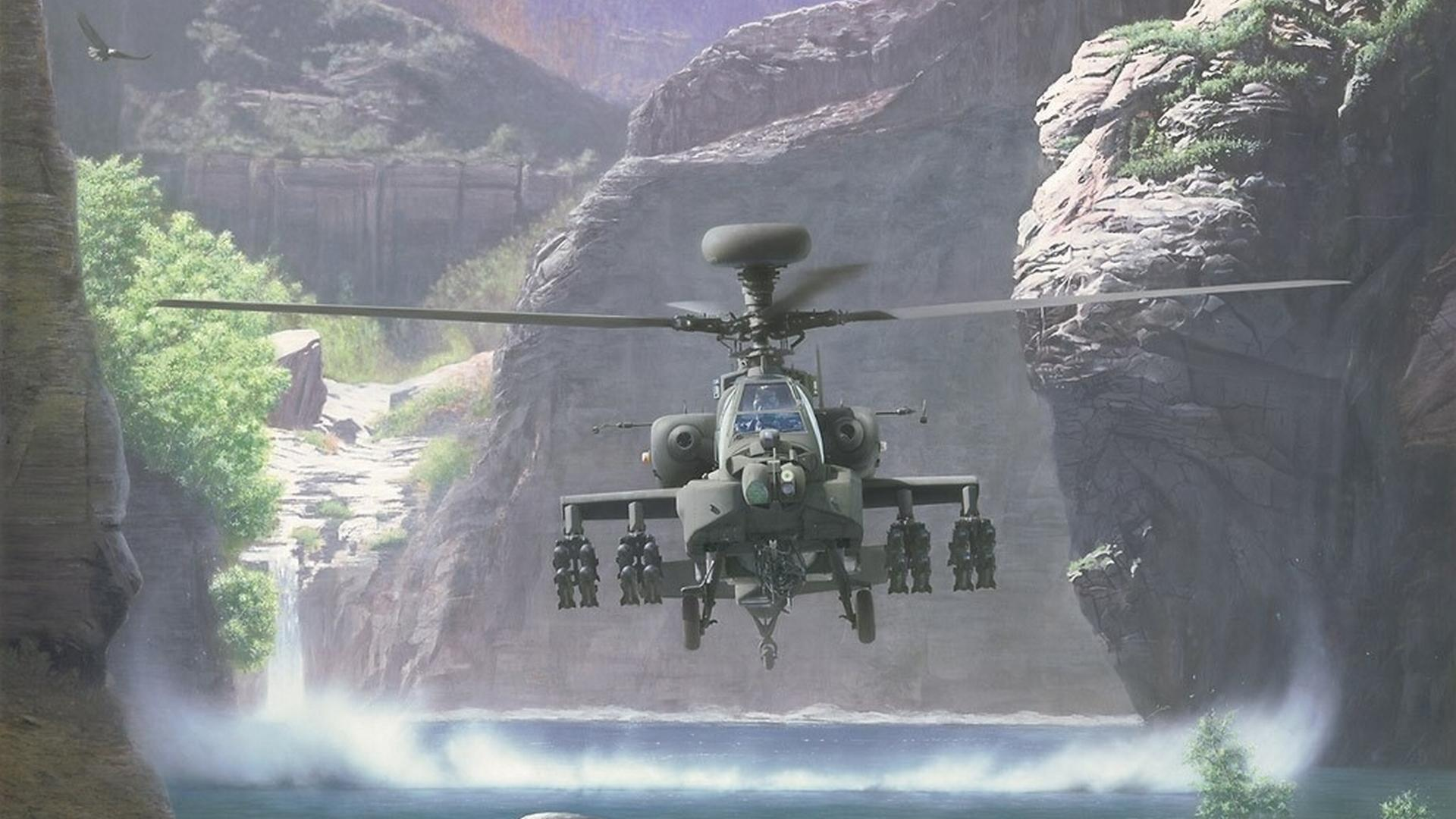 Boeing Ah-64 Apache wallpapers HD quality