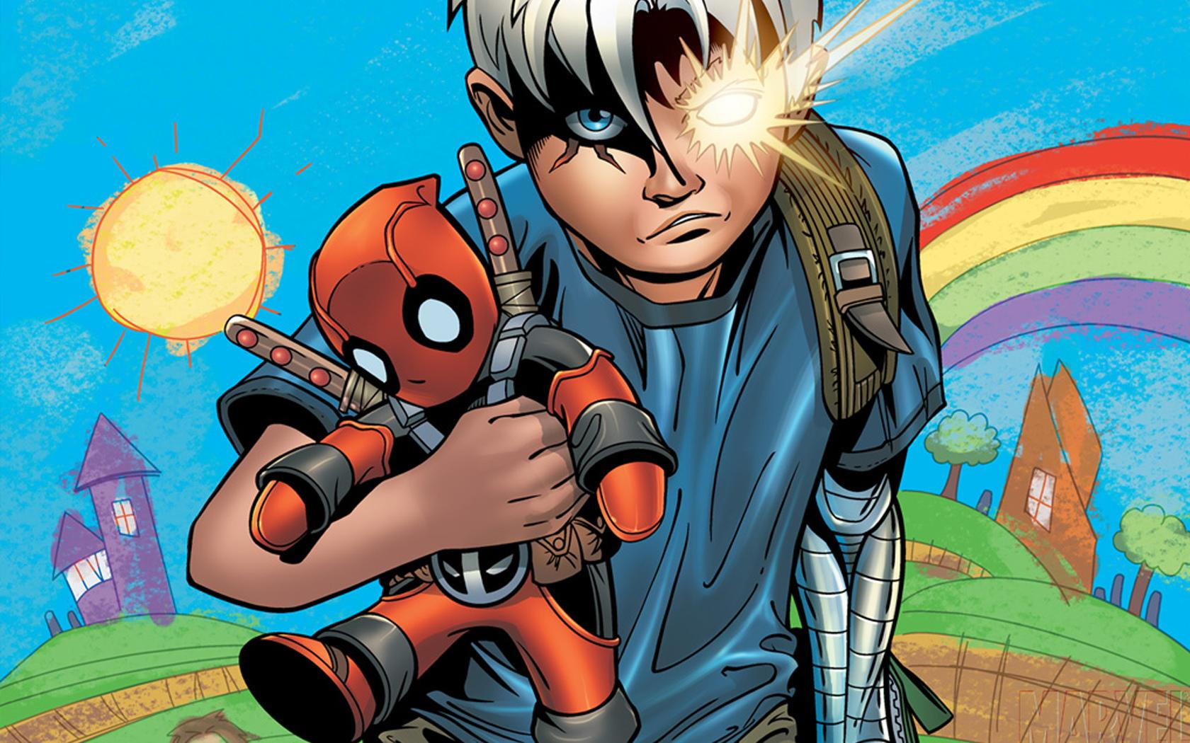 Cable and Deadpool wallpapers HD quality