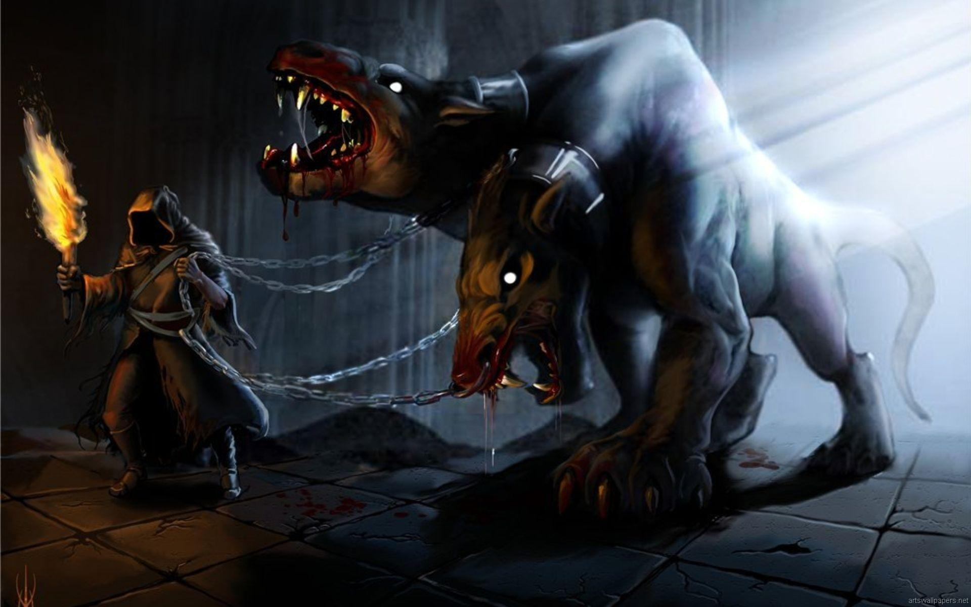 Cerberus wallpapers HD quality