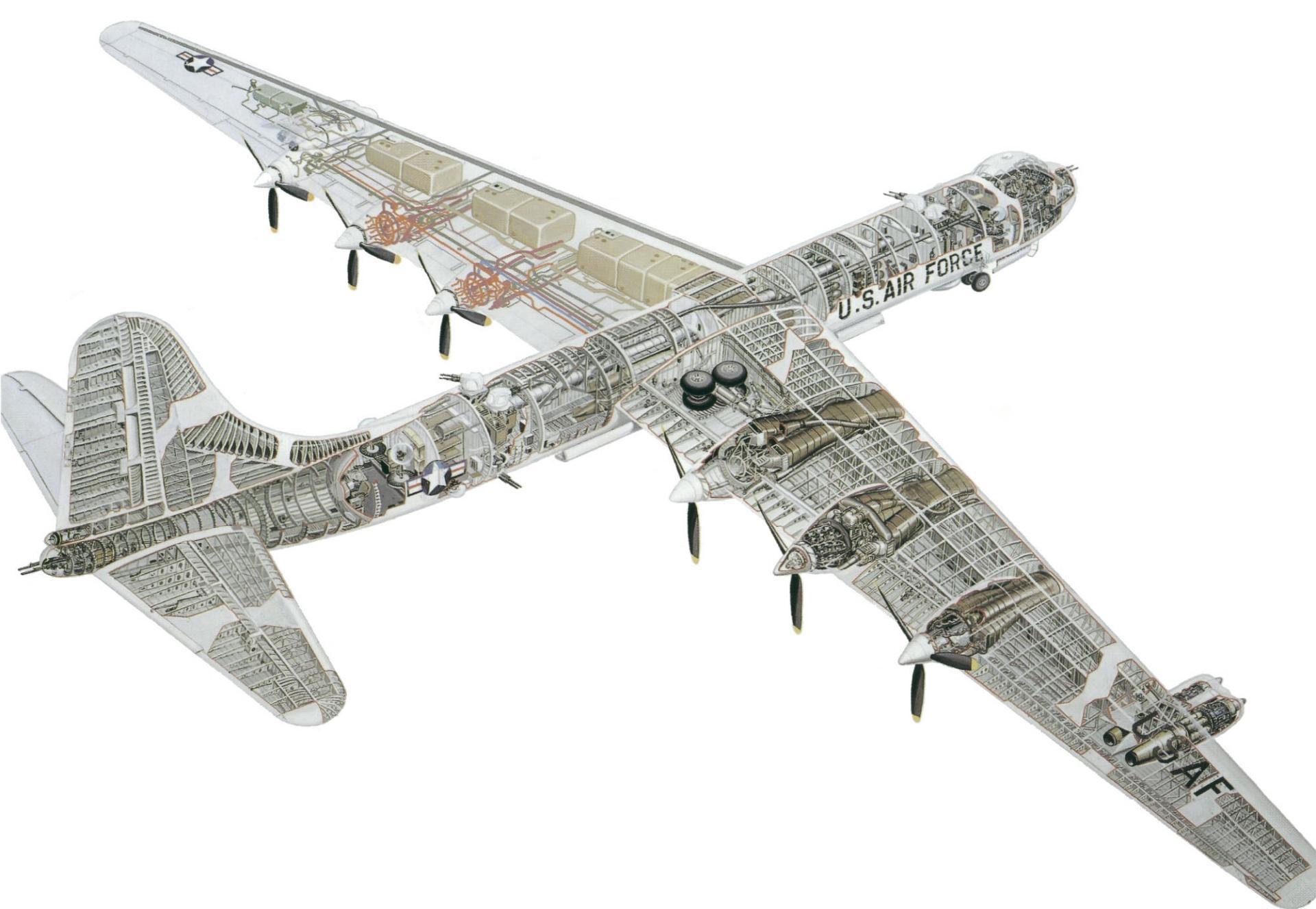 Convair B-36 wallpapers HD quality