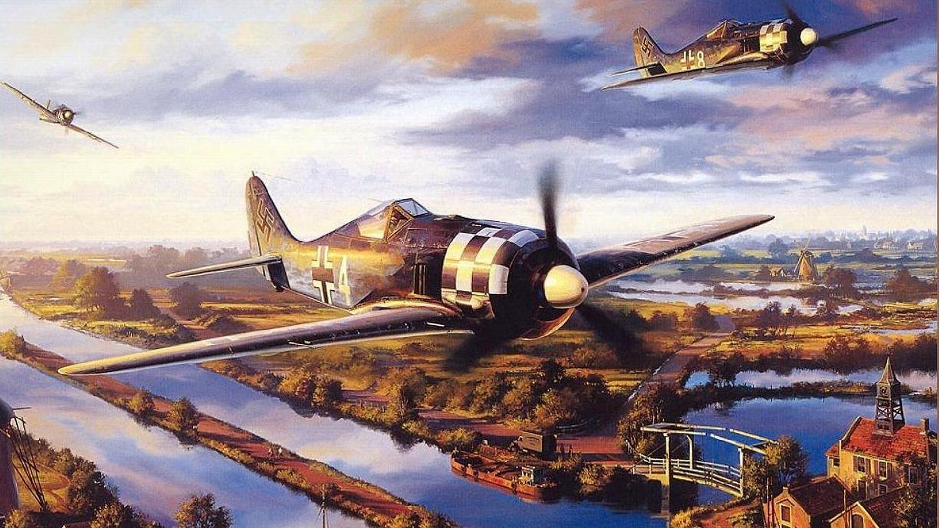 Focke-Wulf Fw 190 wallpapers HD quality