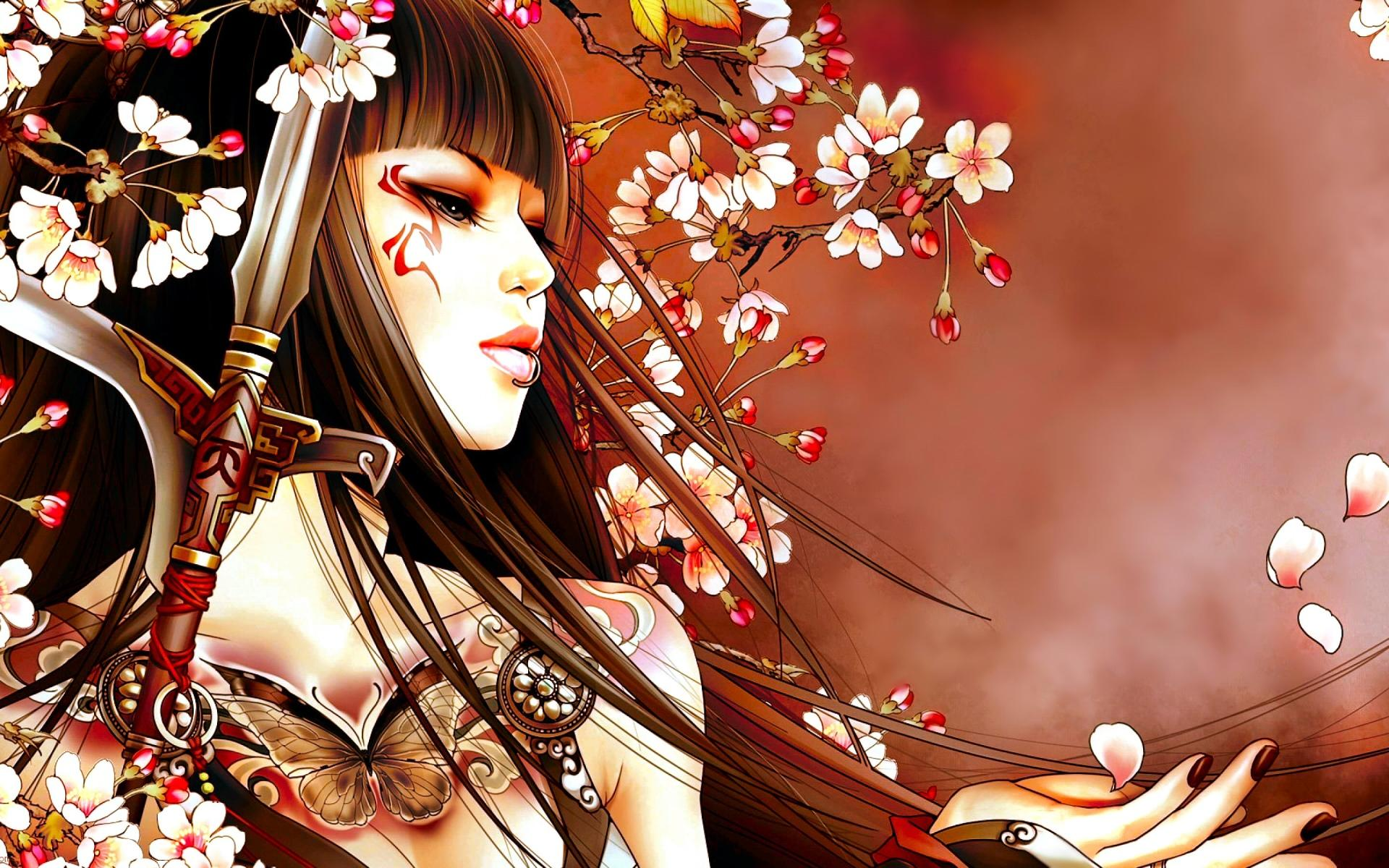 Geisha Fantasy wallpapers HD quality
