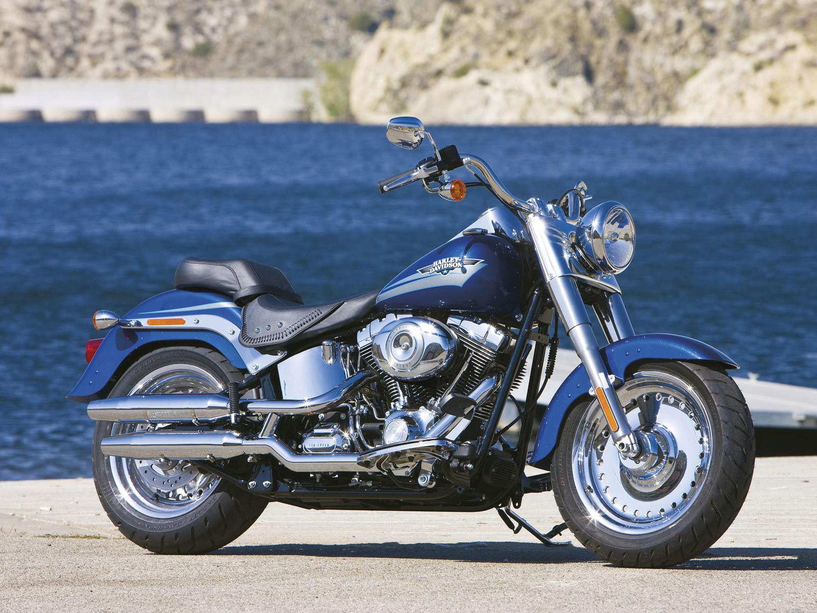Harley-Davidson Fat Boy wallpapers HD quality