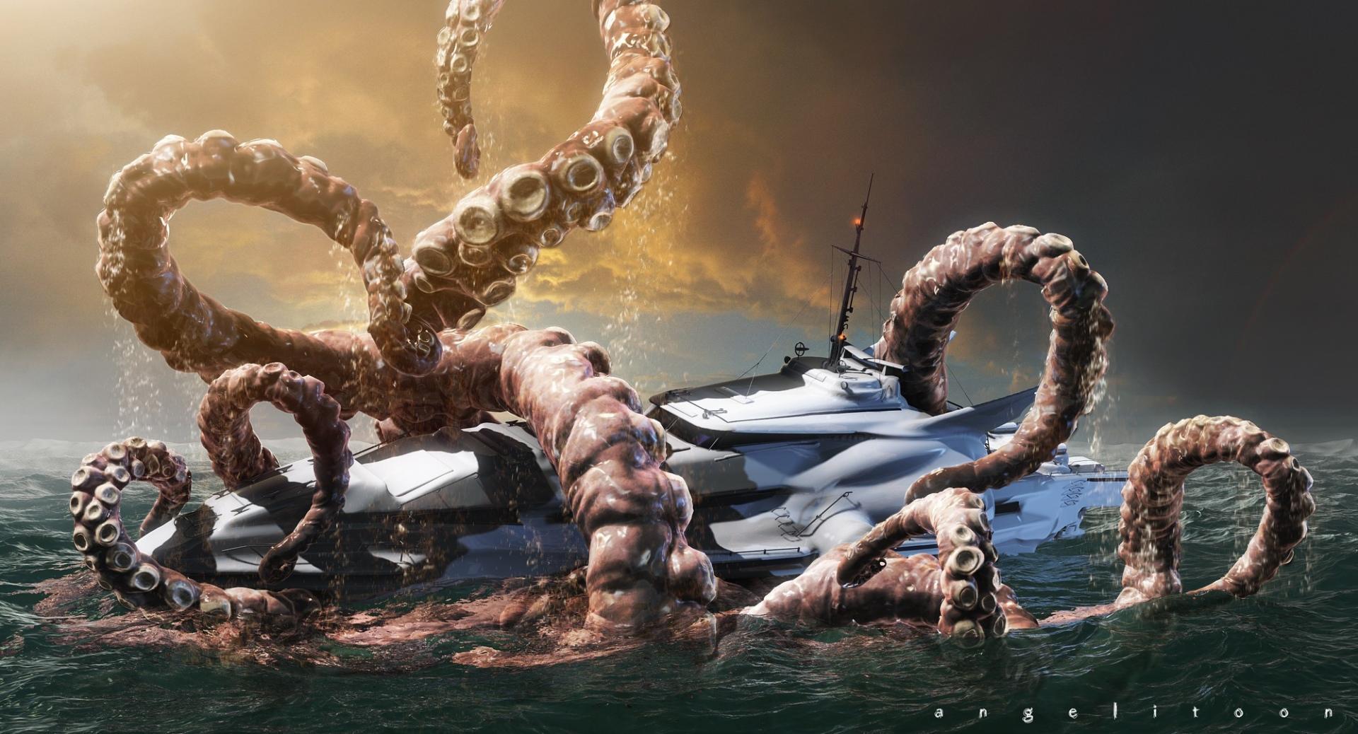 Kraken wallpapers HD quality