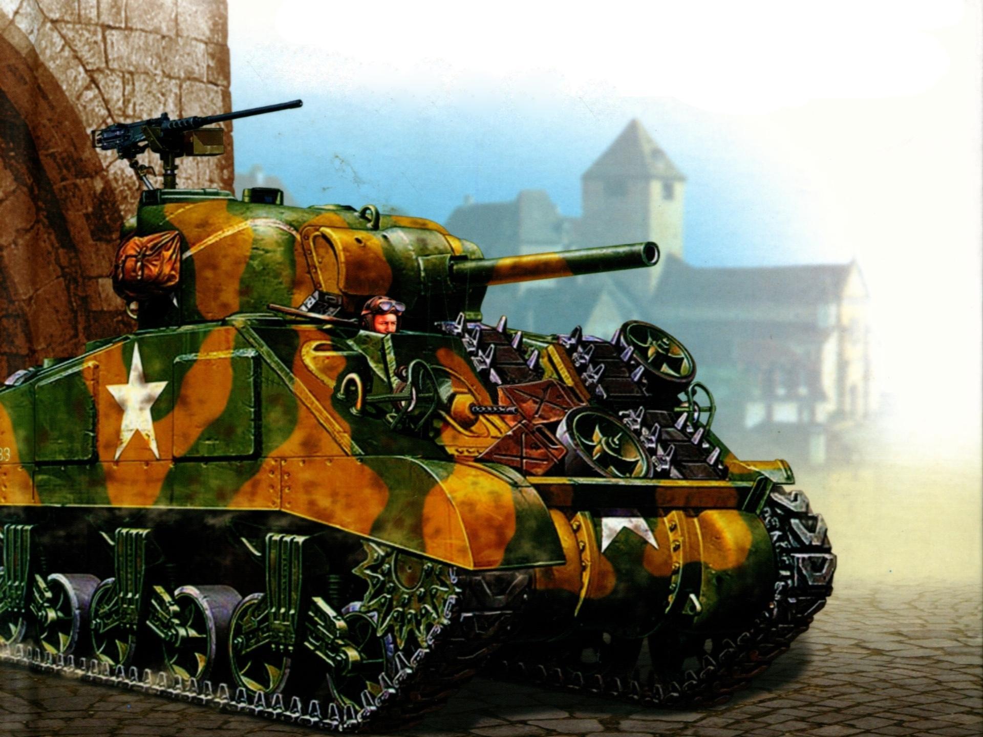 M4 Sherman wallpapers HD quality