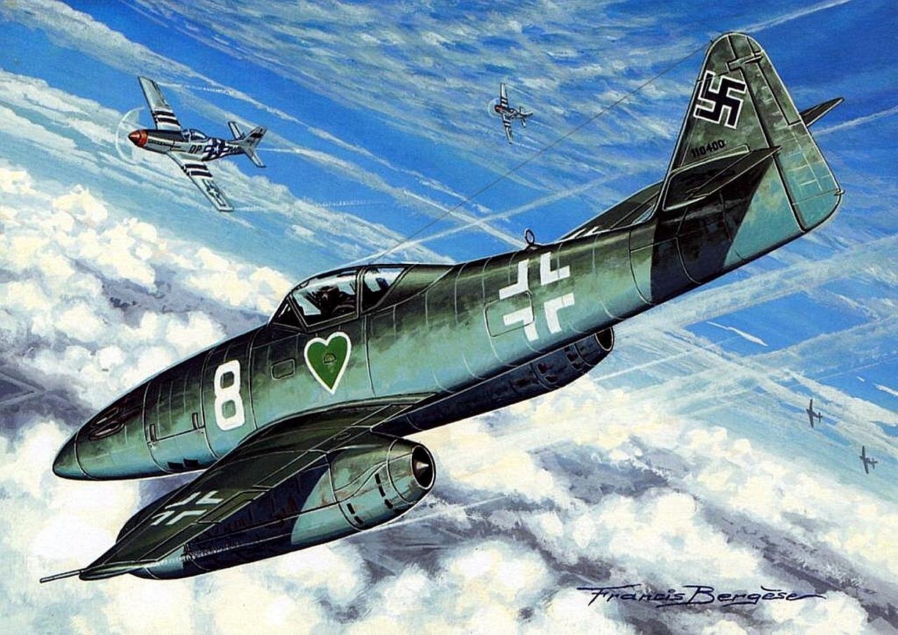 Messerschmitt Me 262 wallpapers HD quality