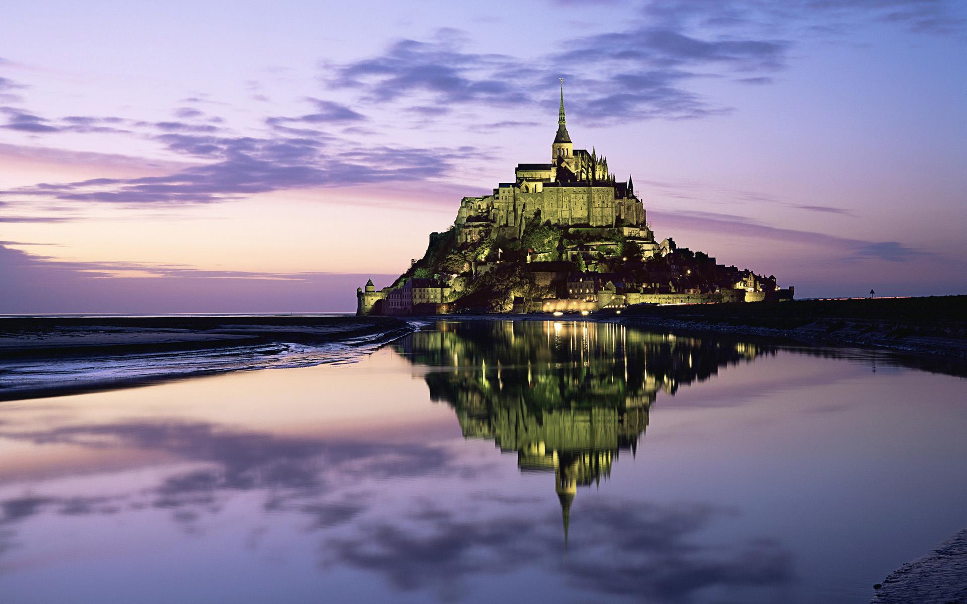 Mont Saint-Michel wallpapers HD quality