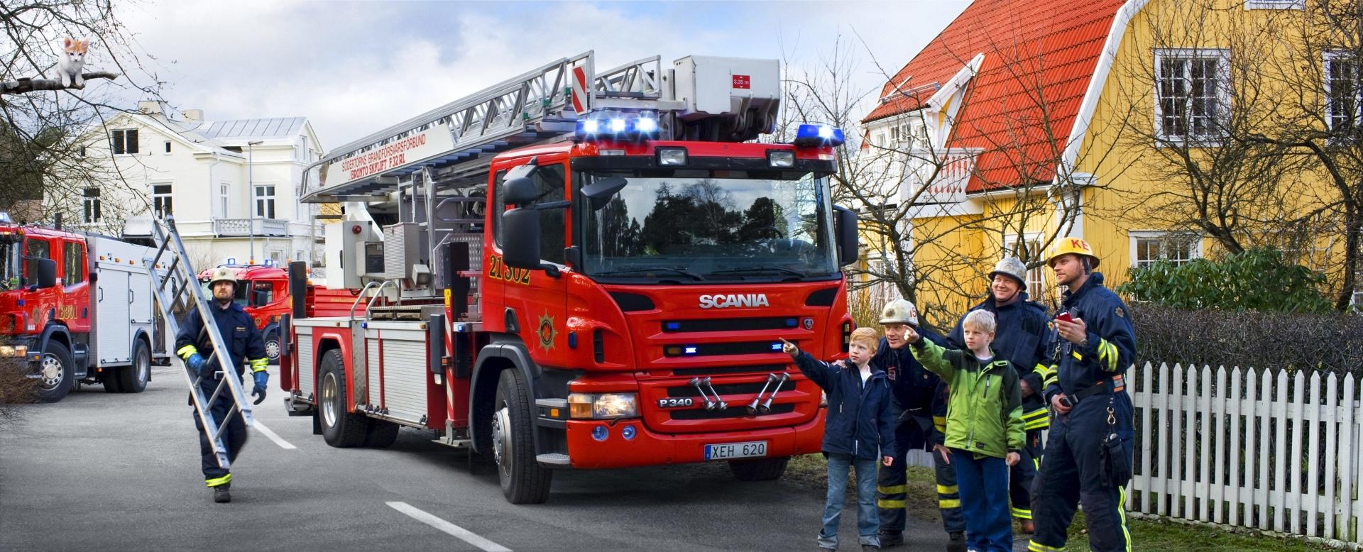 Scania Fire Truck wallpapers HD quality