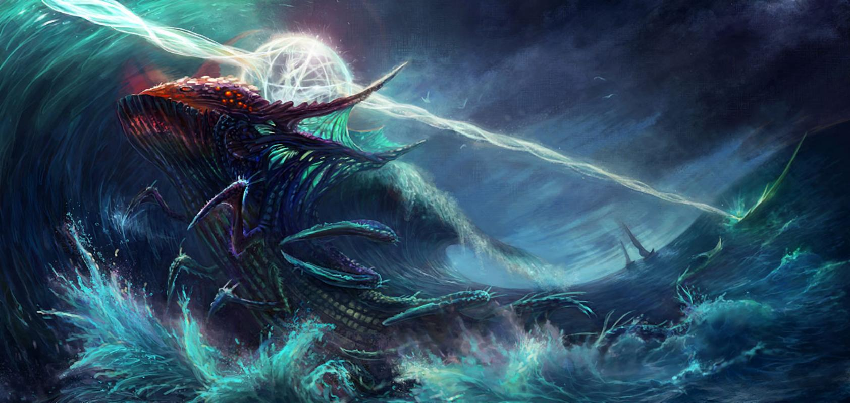 Sea Monster wallpapers HD quality