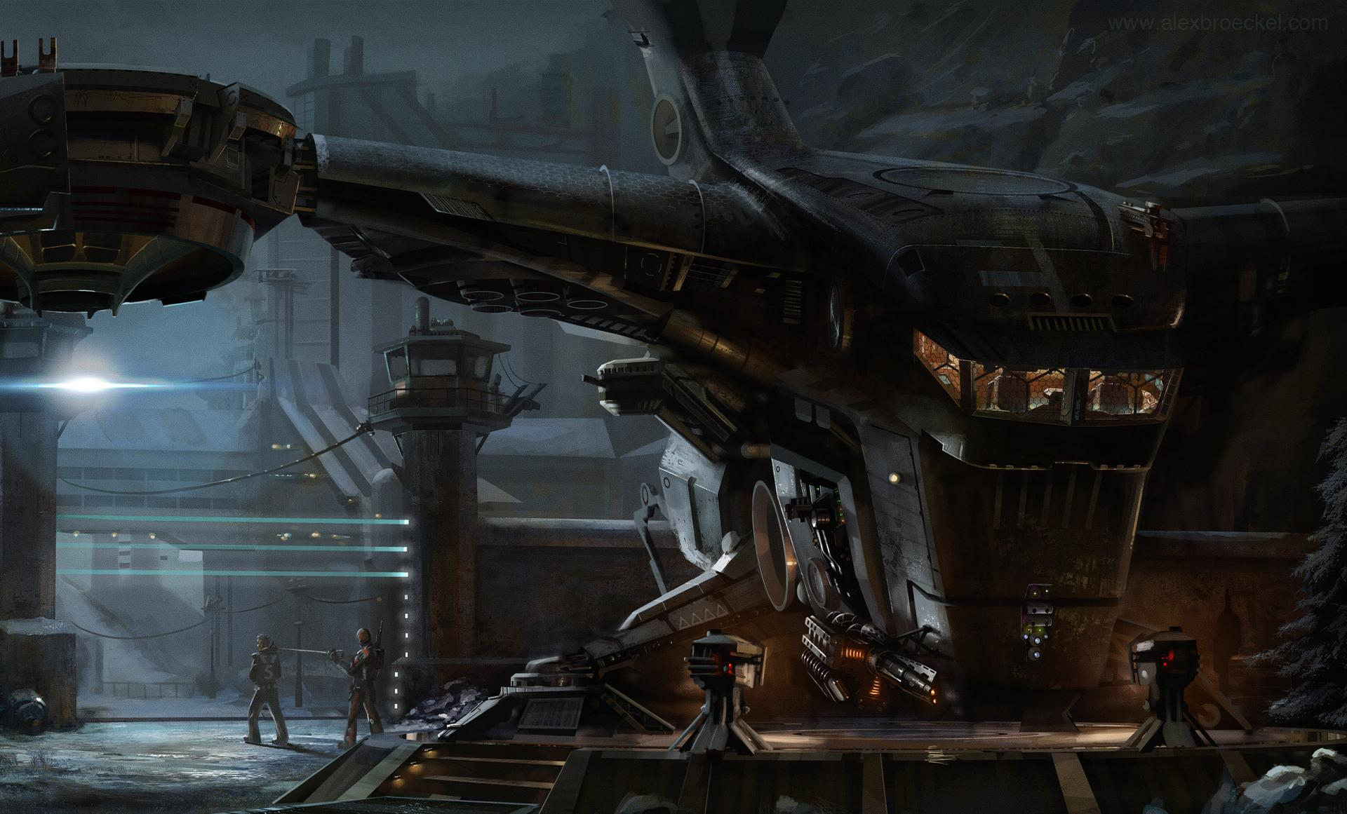 Spaceship Sci Fi wallpapers HD quality