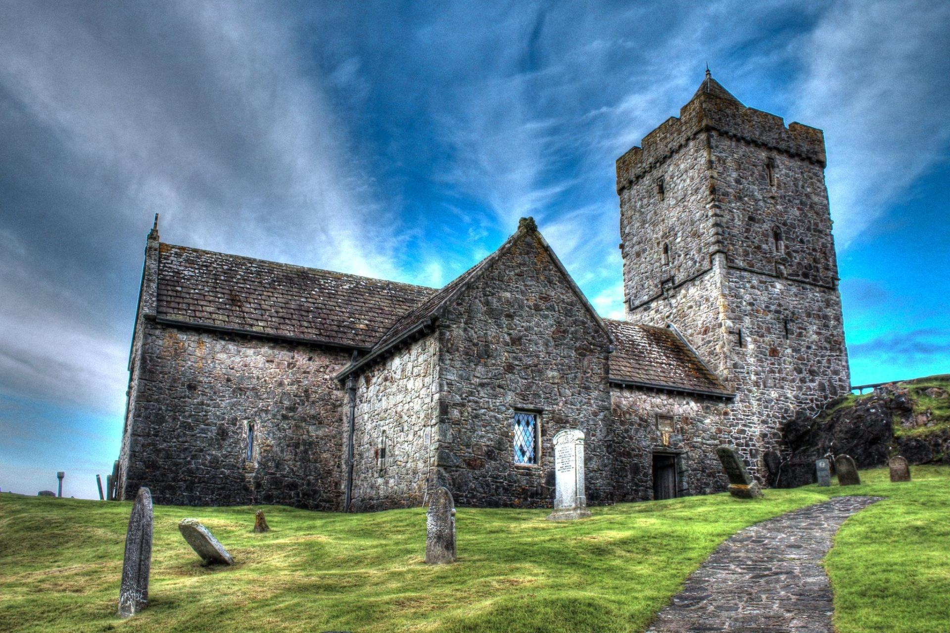 St Clement s Church, Rodel wallpapers HD quality