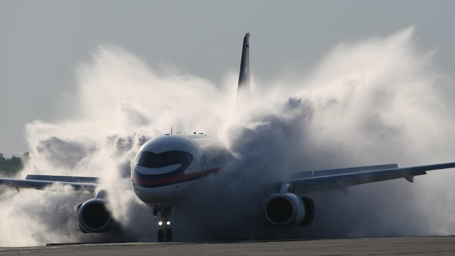 Sukhoi SuperJet 100 wallpapers HD quality