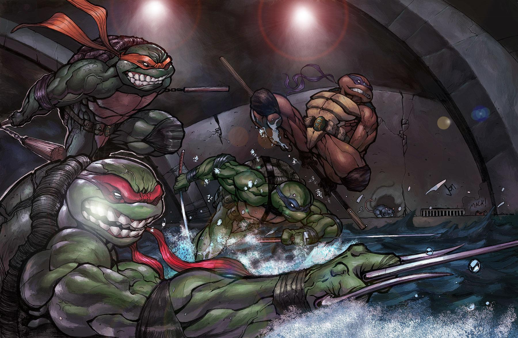 Teenage Mutant Ninja Turtles wallpapers HD quality