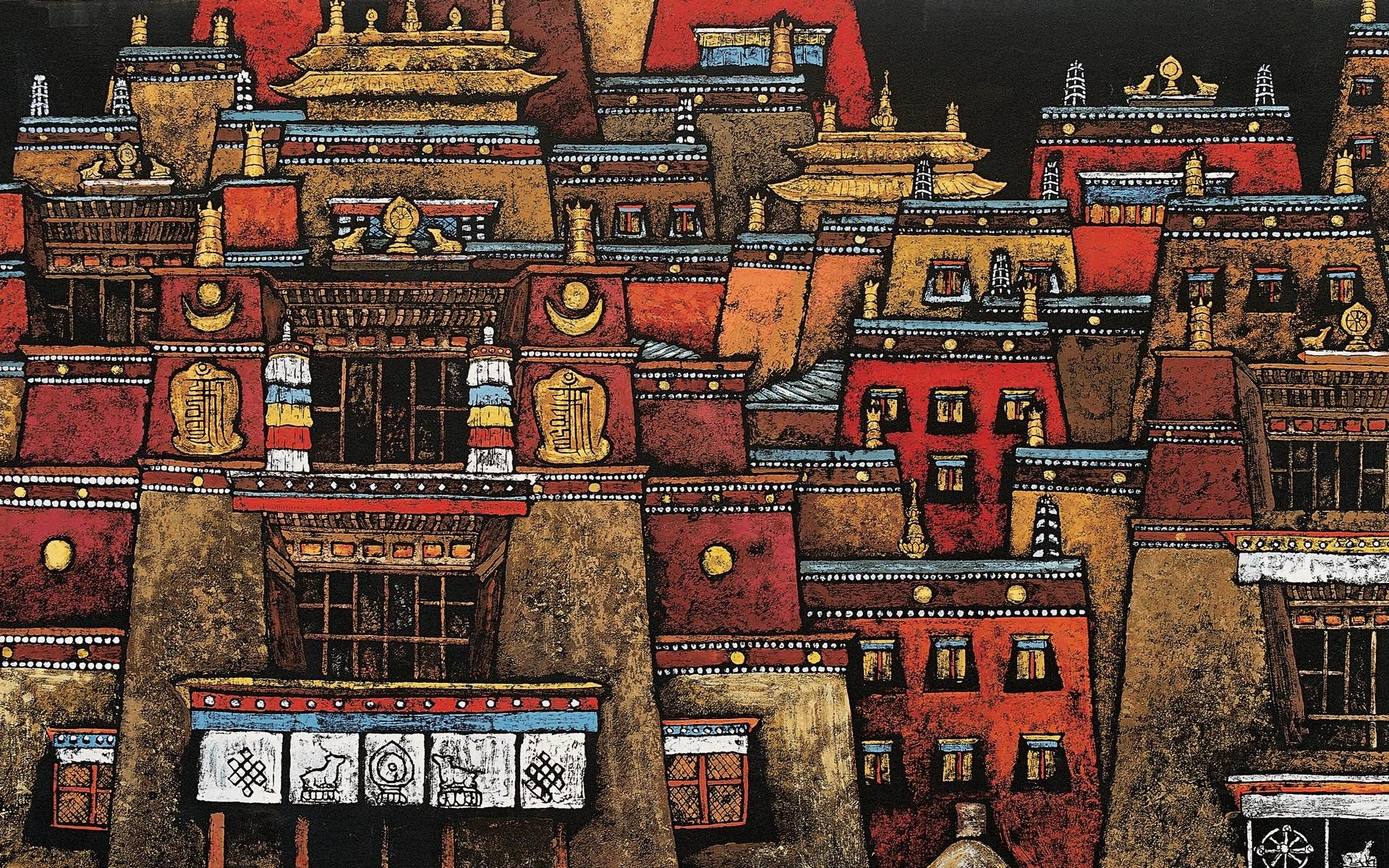 Tibetan Artistic wallpapers HD quality