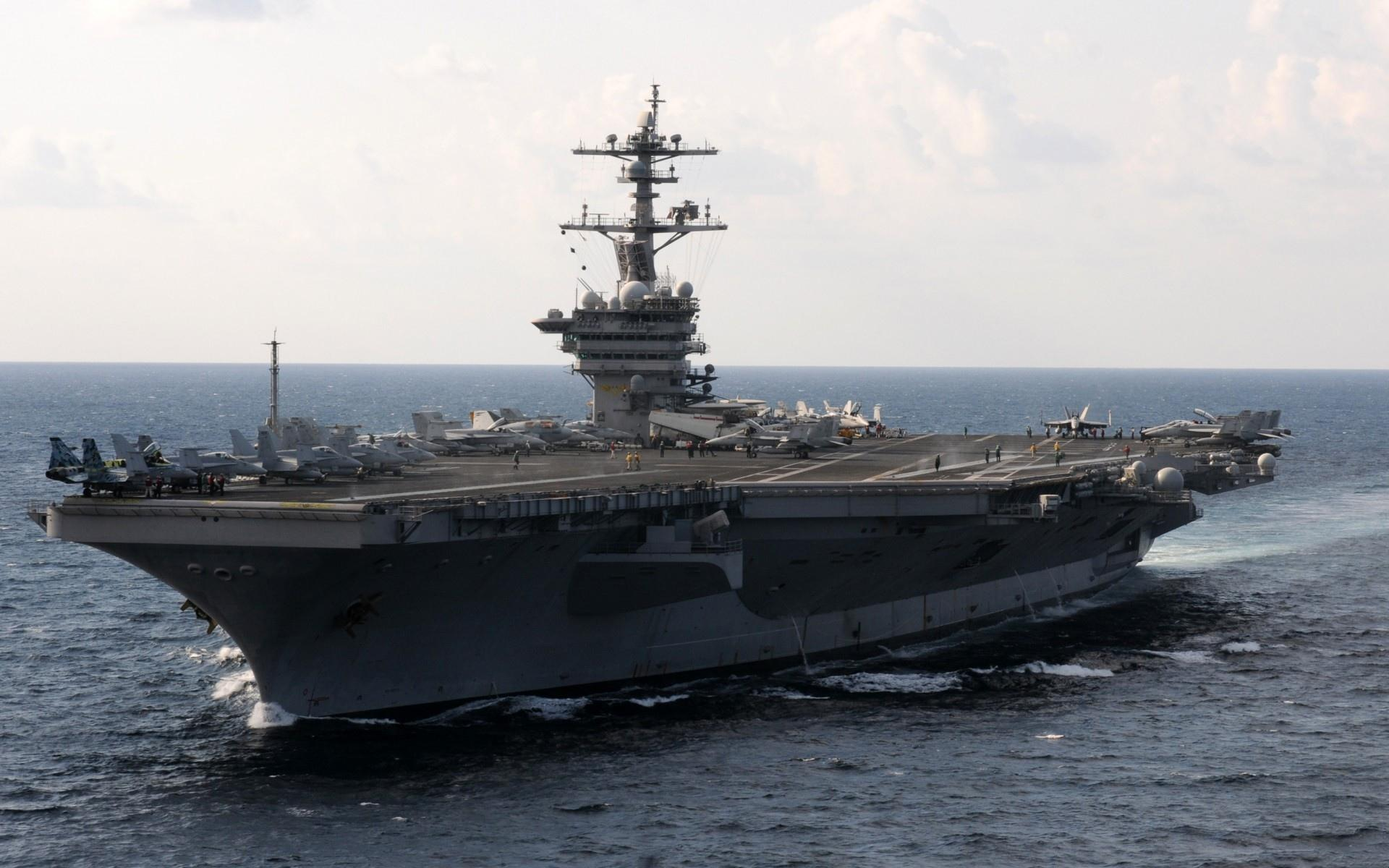 USS Carl Vinson (CVN-70) wallpapers HD quality