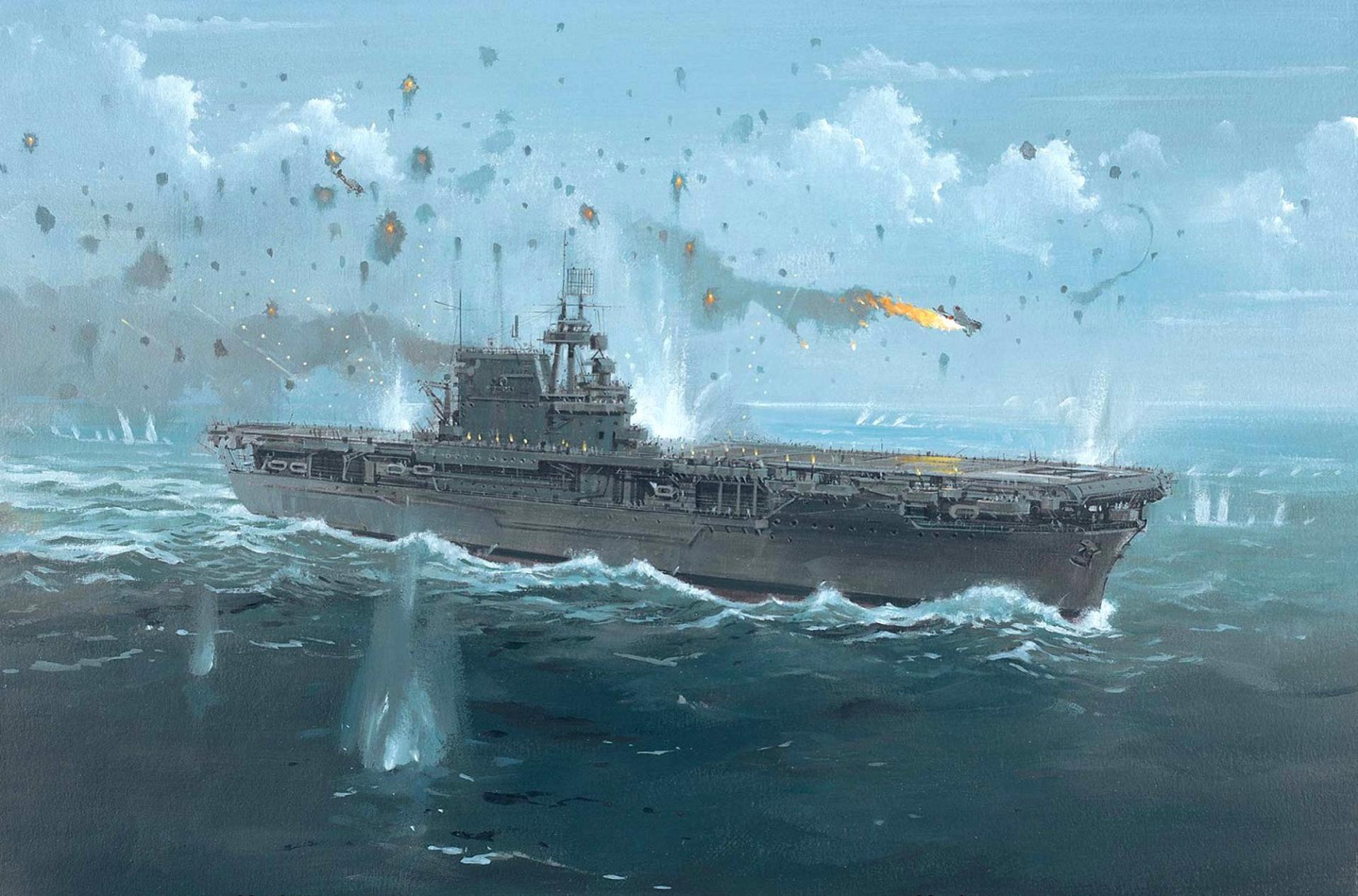 USS Enterprise (CV-6) wallpapers HD quality