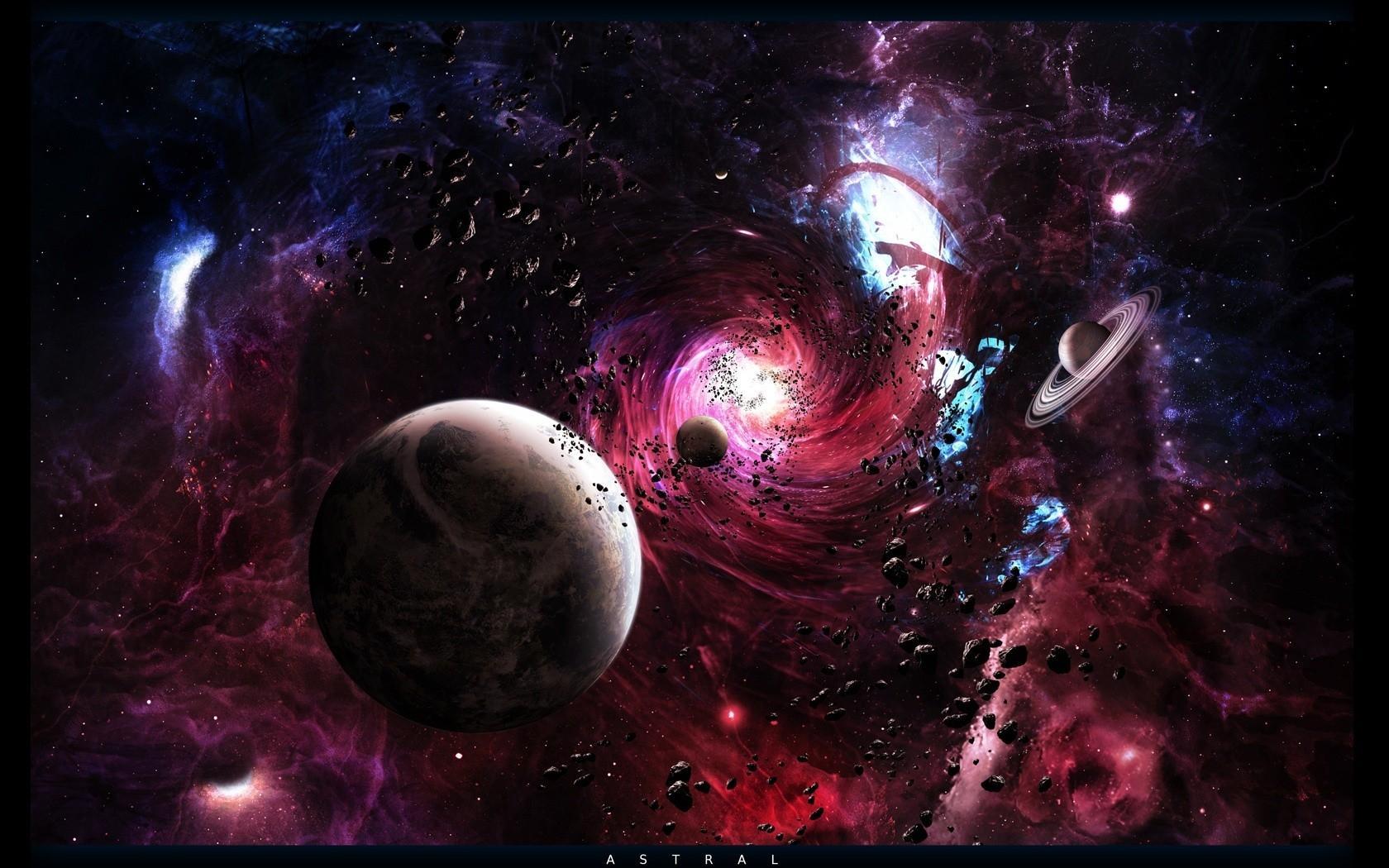 Обои Темная планета картинки на рабочий стол на тему Космос - скачать бесплатно