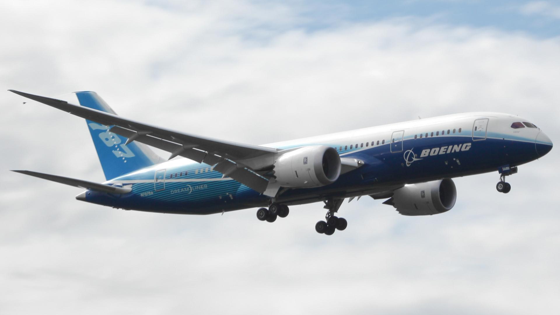 Boeing 787 загрузить